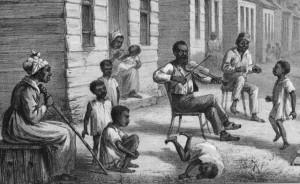 f Slave Quarters, Louisiana, 1861-65 Adolf Carlsson Warberg, Skizzer fran Nord-Amerikanska Kriget, 1861-1865_